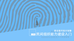 民间组织能力建设入门 Building Capacity of CSOs in China